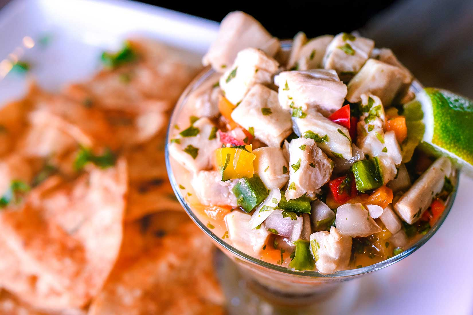 Cool Off with Ceviche