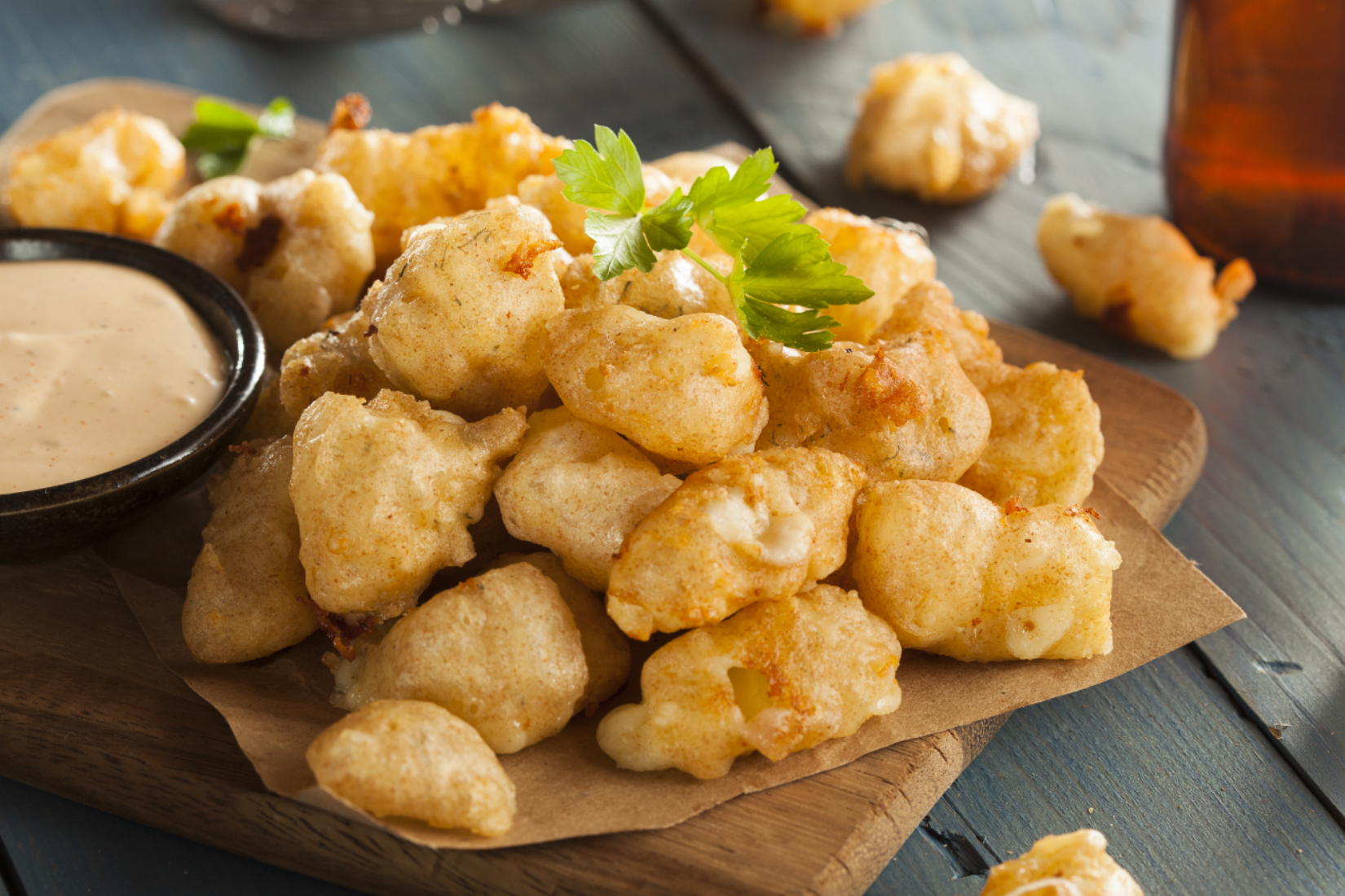 Entice White Cheddar Cheese Curds