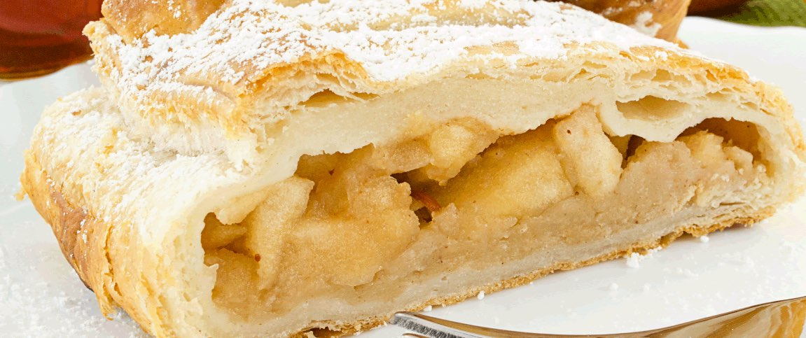 Strudel with Apple Filling