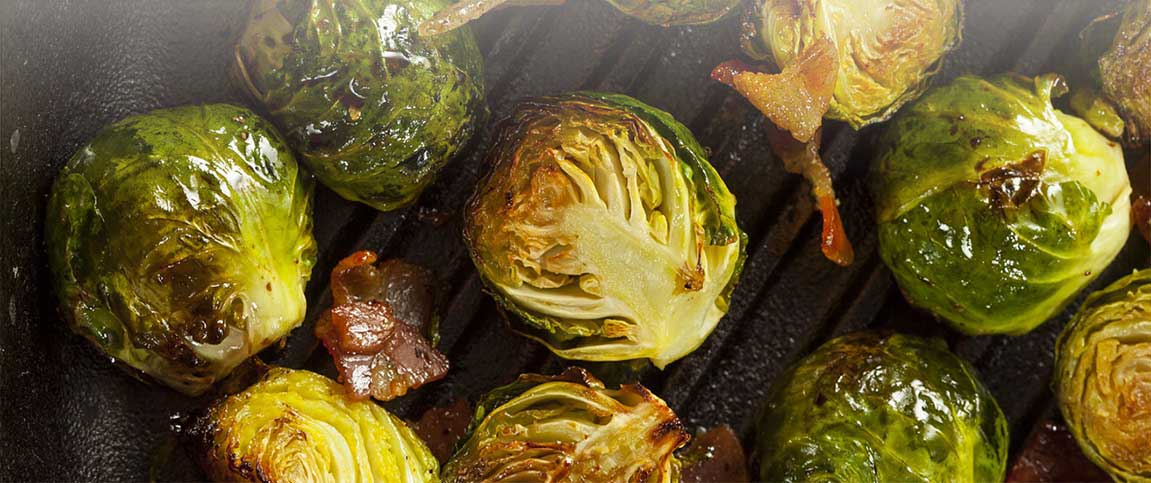 Bacon Mustard Brussels Sprouts