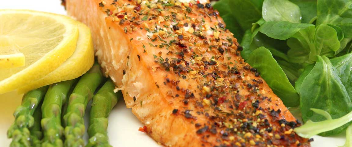 Baked Dijon Salmon Filet