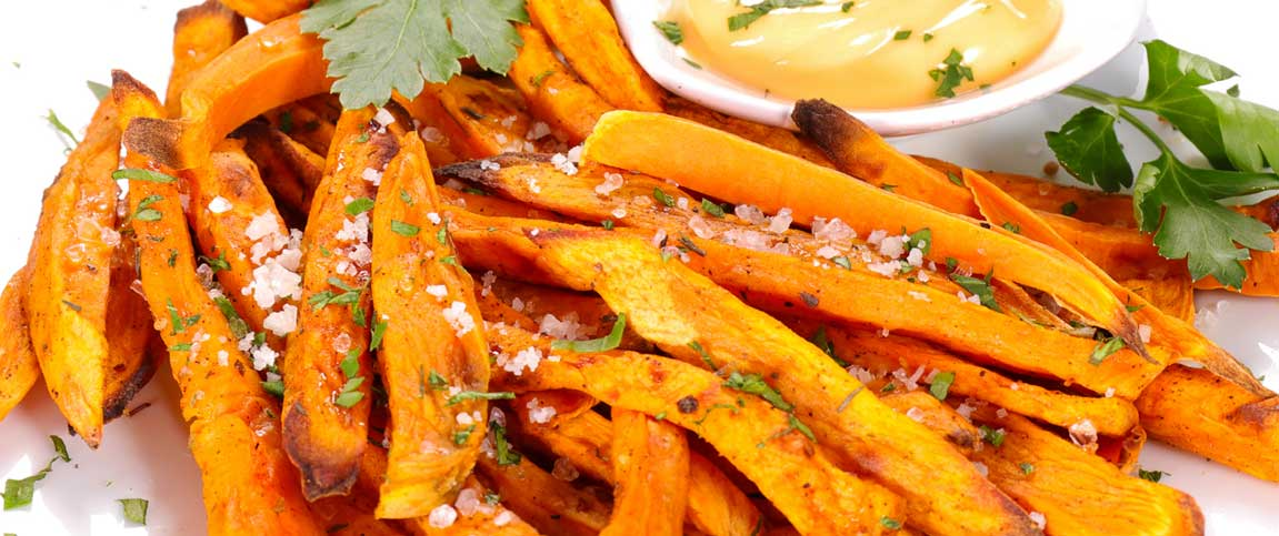 Sweet Potato Fries with Aioli Dipping Sauce