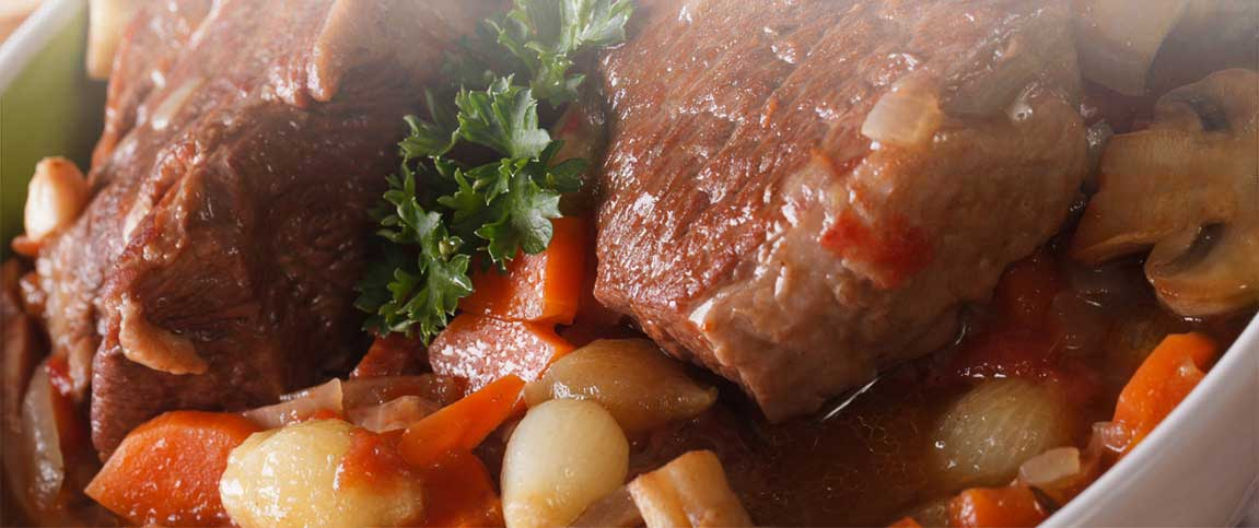 Braised Short Ribs and Vegetables