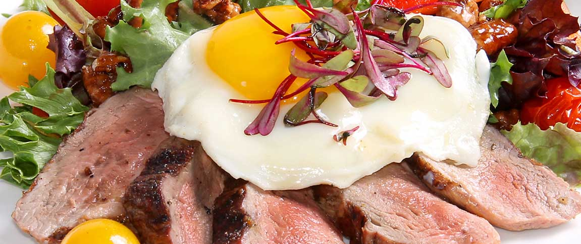 Duck Endive Salad with Egg