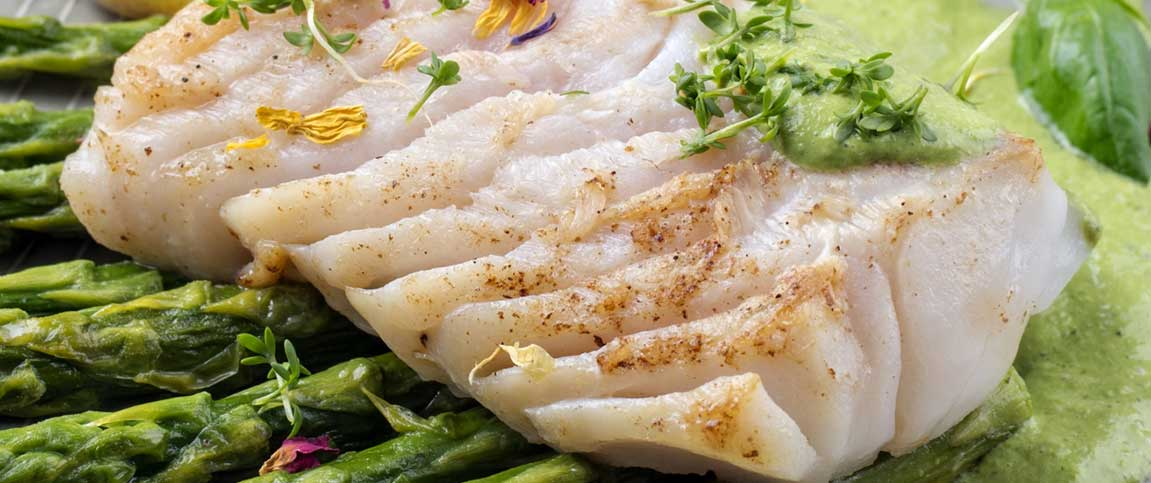 Pan Seared White Fish with White Wine and Capers