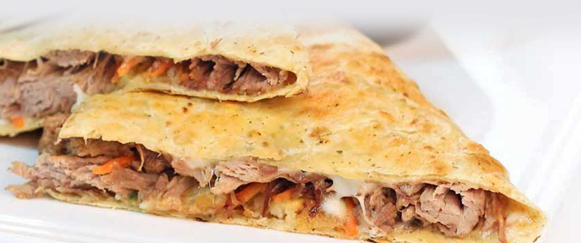Pot Roast Quesadilla