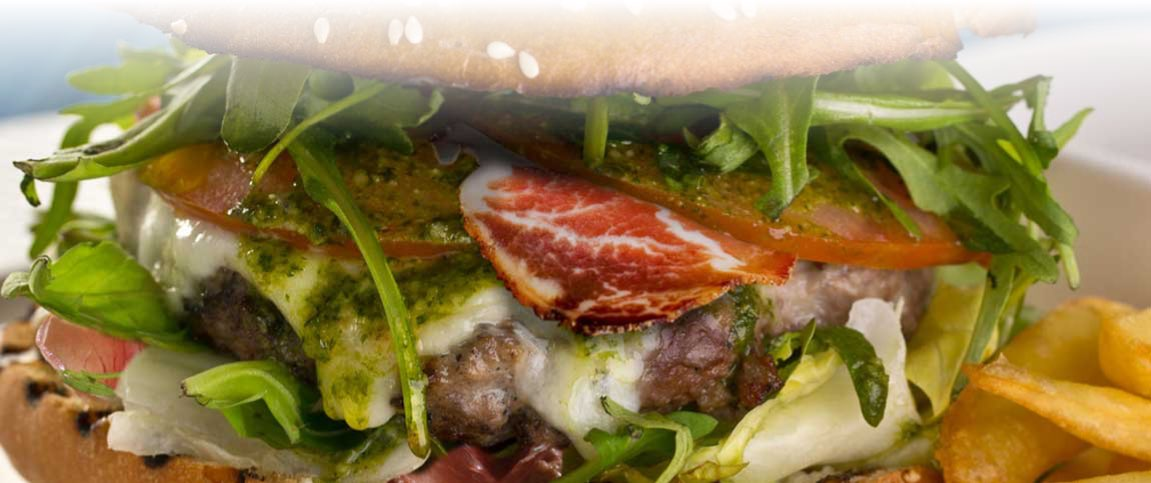 Saltimbocca Burger Slider