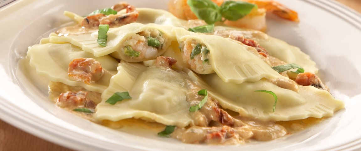 Shrimp and Asparagus Ravioli