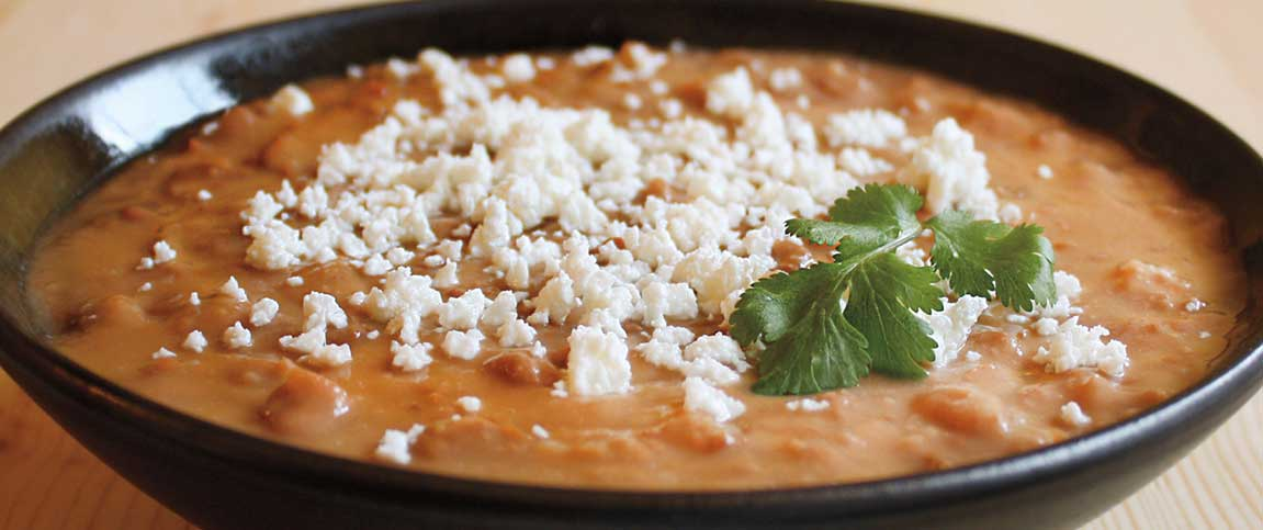 Tequila and Lime Refried Beans