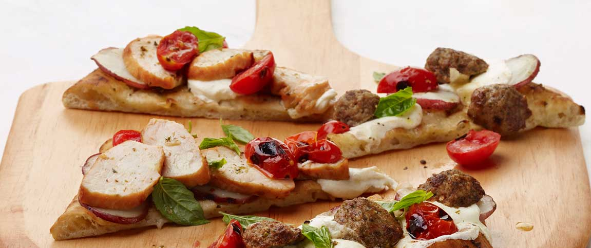 Turkey Flatbread Pizetta