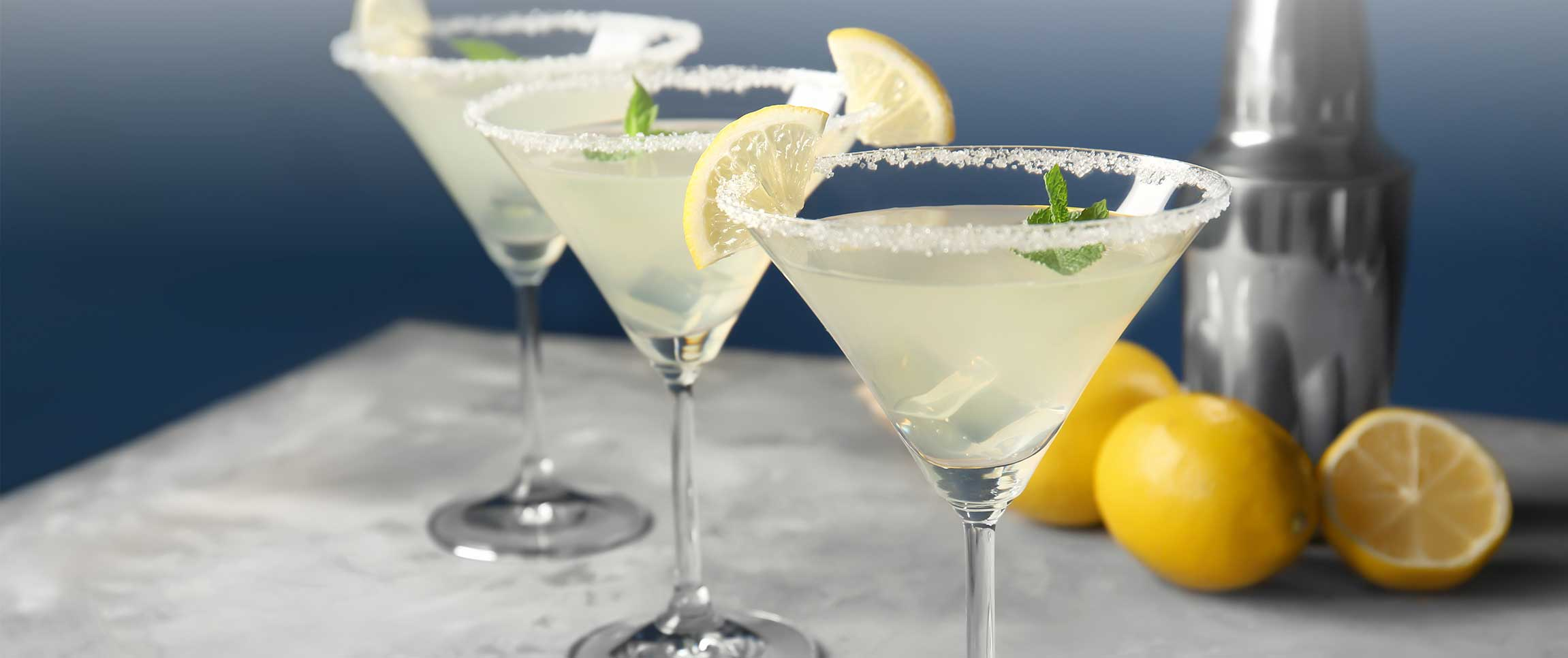 lemon martinis