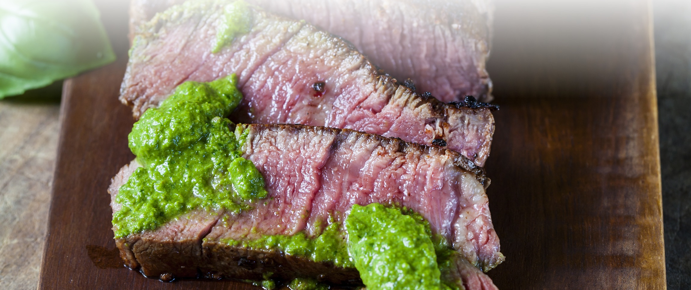 Grilled Rib Eye with Cilantro Green Chili Aioli