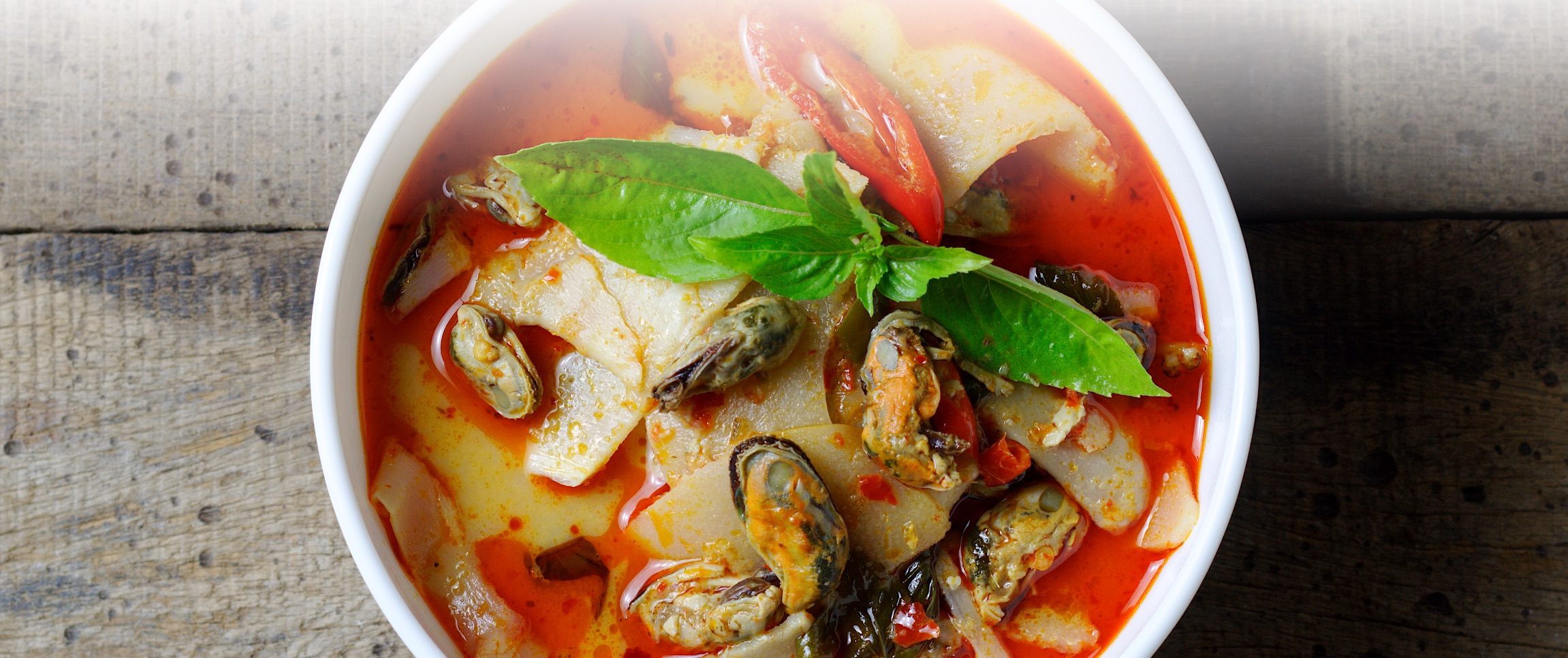 Steamed Mussels and Clams with Coconut Curry