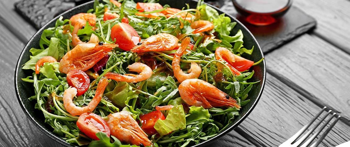Shrimp and Haricots Vert Salad