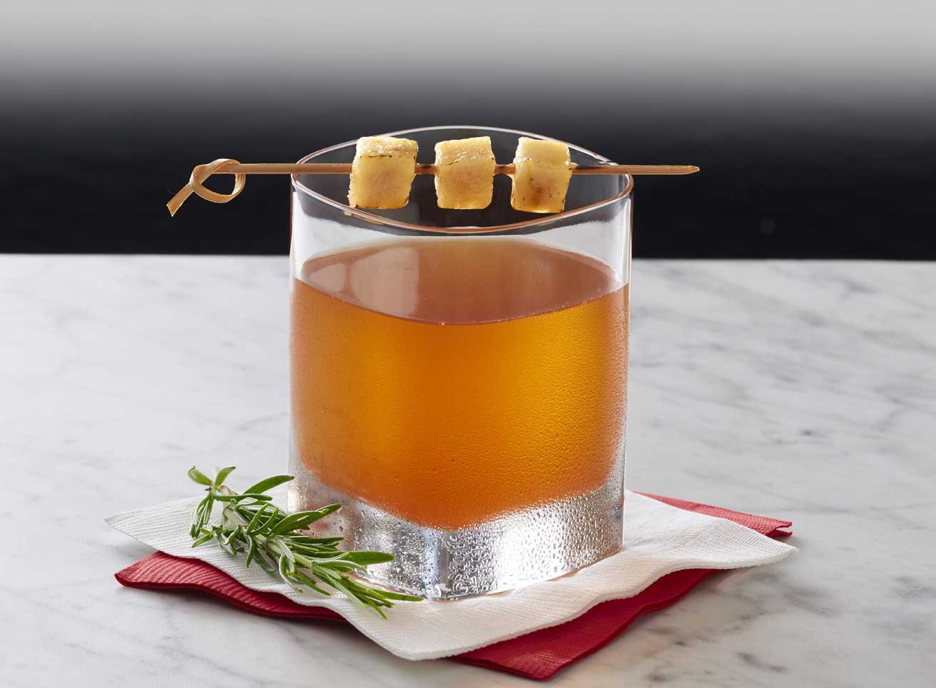 Smoky Rosemary Cider