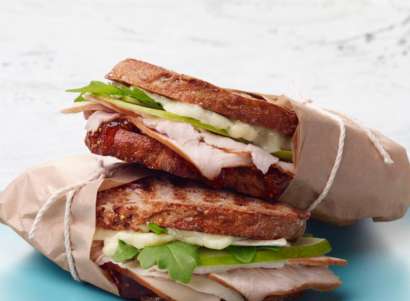 Turkey and Fig Panini